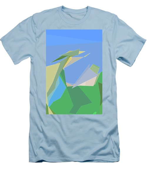 Hailing A Taxi Men's T-Shirt (Athletic Fit)