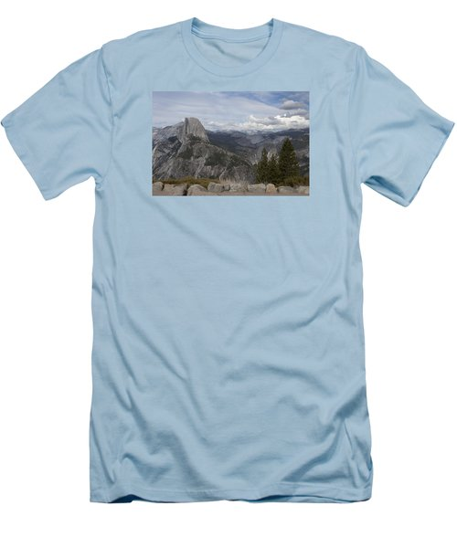 Half Dome Men's T-Shirt (Slim Fit) by Ivete Basso Photography