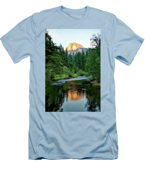 Half Dome Warmed By Setting Sun Men's T-Shirt (Athletic Fit)