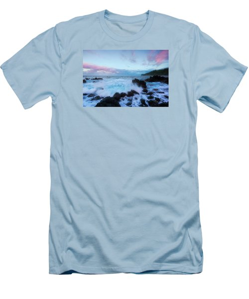 Men's T-Shirt (Slim Fit) featuring the photograph Hamakua Sunset by Ryan Manuel