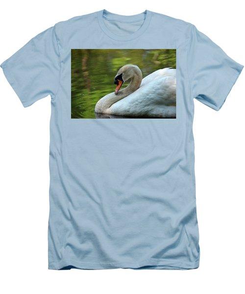 Hammy Swan Men's T-Shirt (Athletic Fit)