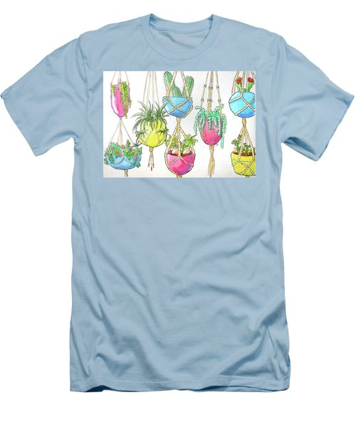 Hanging Garden Men's T-Shirt (Athletic Fit)