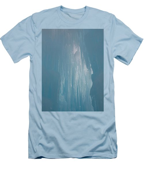 Hanging Icicles Men's T-Shirt (Slim Fit) by Catherine Gagne