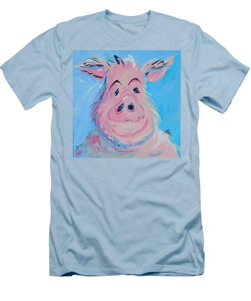 Hank Men's T-Shirt (Slim Fit) by Terri Einer