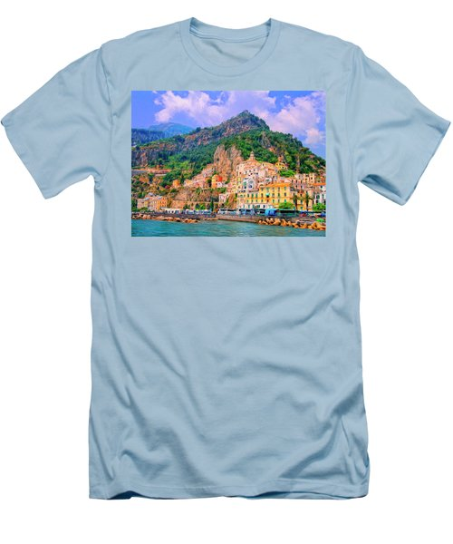 Harbor At Amalfi Men's T-Shirt (Athletic Fit)