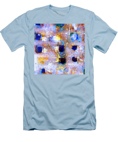 Men's T-Shirt (Slim Fit) featuring the painting Hard Eight by Dominic Piperata