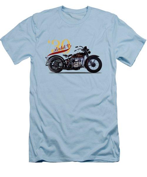 Harley-davidson Model V 1930 Men's T-Shirt (Athletic Fit)