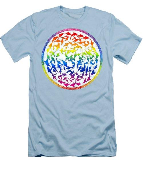 Harmony Men's T-Shirt (Slim Fit) by Rebecca Wang