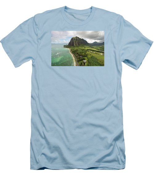 Hawaii Beauty Men's T-Shirt (Slim Fit) by James Roemmling