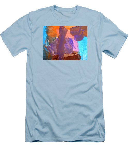 Men's T-Shirt (Slim Fit) featuring the painting Hawaii by Fred Wilson
