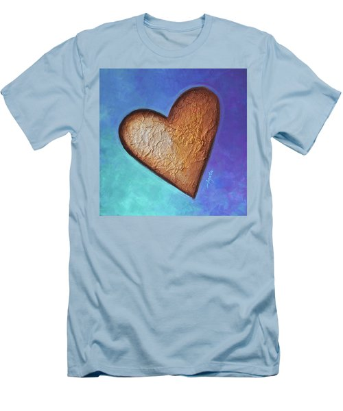 Heart Men's T-Shirt (Athletic Fit)