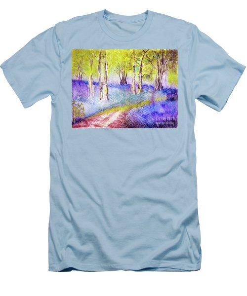 Heather Glade Men's T-Shirt (Slim Fit) by Jasna Dragun
