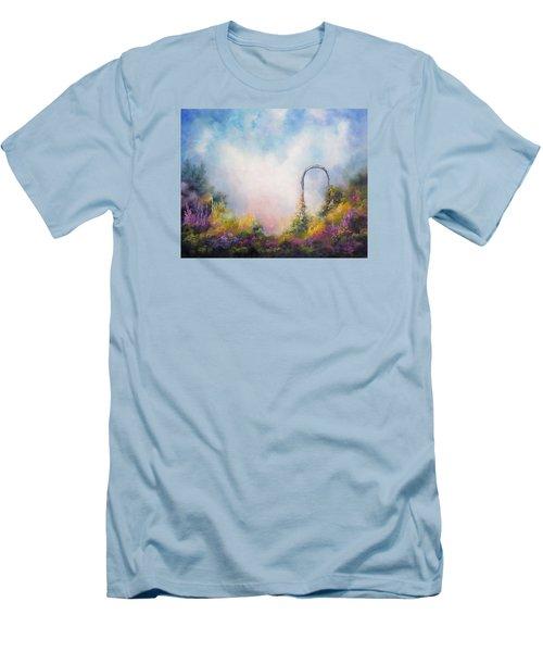 Heaven's Gate Men's T-Shirt (Slim Fit) by Marina Petro