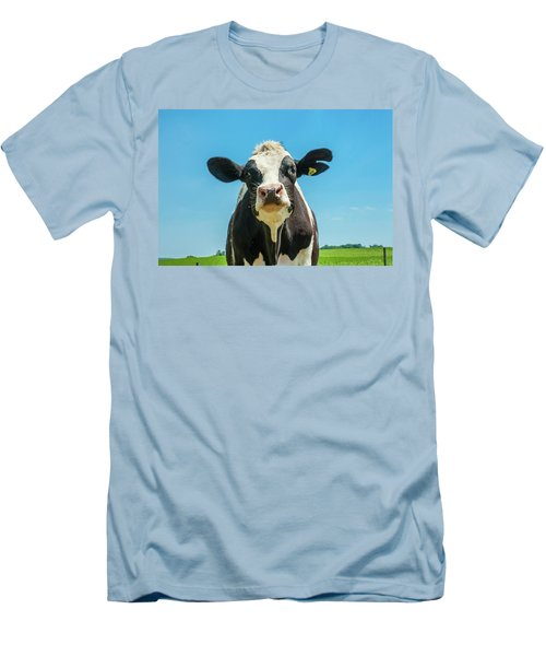 Hello Bessie Men's T-Shirt (Athletic Fit)