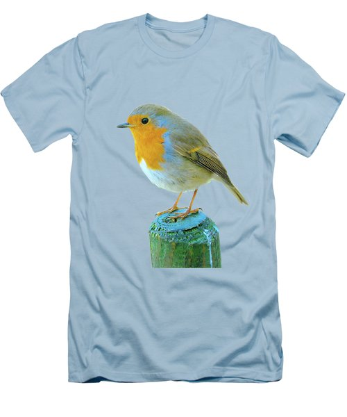 Hello Robin Men's T-Shirt (Athletic Fit)