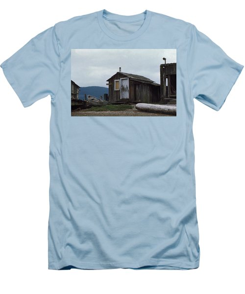 Men's T-Shirt (Slim Fit) featuring the photograph Hermit by Laurie Stewart