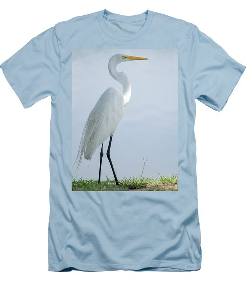 Heron  Men's T-Shirt (Athletic Fit)
