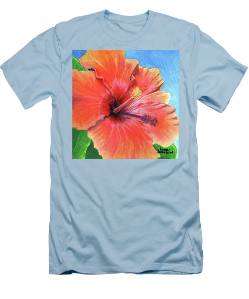 Hibiscus Passion Men's T-Shirt (Athletic Fit)