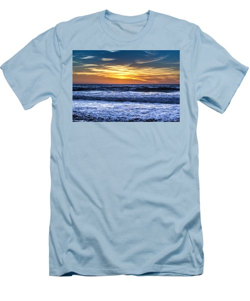 Hidden Sunset Men's T-Shirt (Athletic Fit)