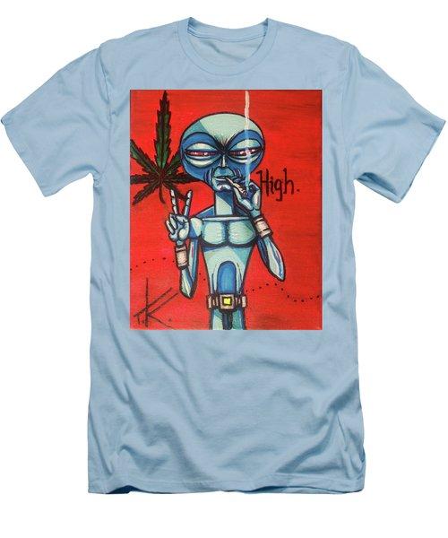 High Alien Men's T-Shirt (Athletic Fit)