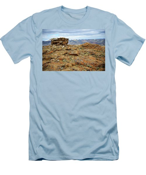 High Desert Cairn Men's T-Shirt (Athletic Fit)