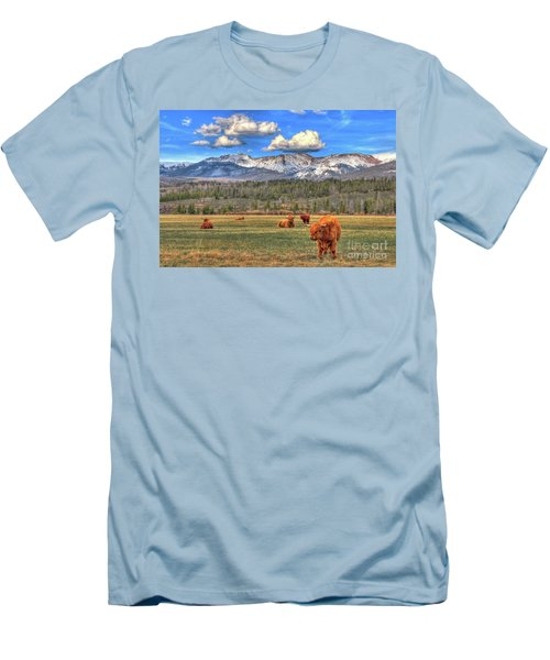 Highland Colorado Men's T-Shirt (Athletic Fit)