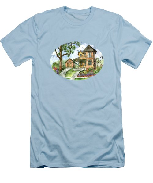 Hilltop Home Men's T-Shirt (Slim Fit) by Shelley Wallace Ylst