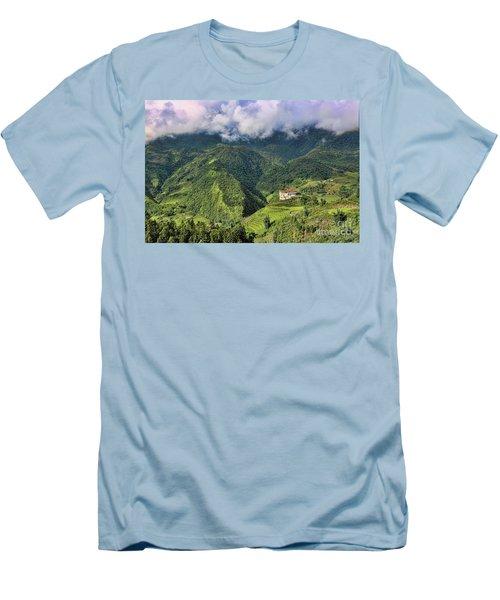 Hilltop Sapa Men's T-Shirt (Slim Fit) by Chuck Kuhn