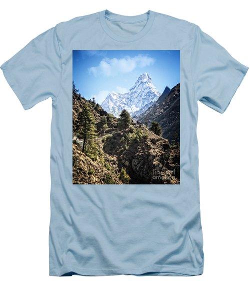 Himalaya Trail Men's T-Shirt (Athletic Fit)