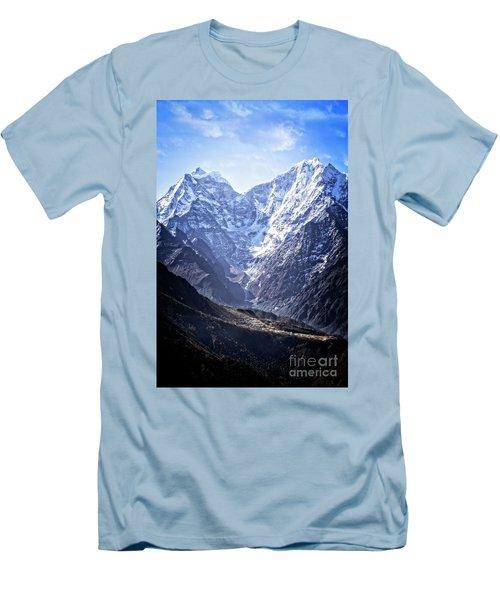 Himalayan Village Men's T-Shirt (Athletic Fit)