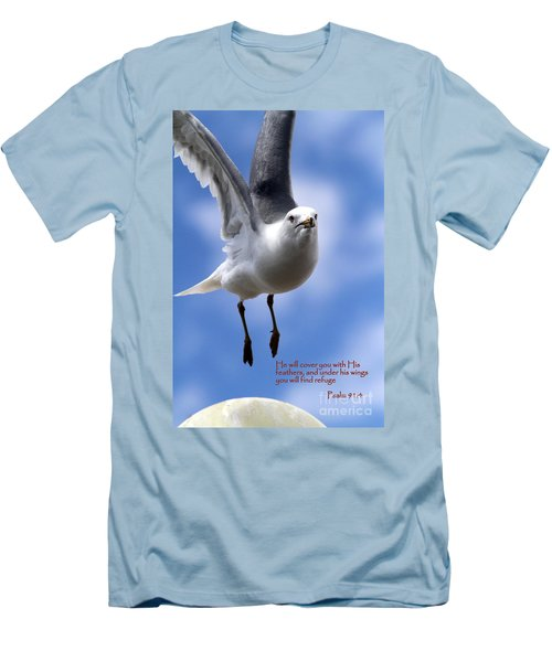 His Feathers Men's T-Shirt (Athletic Fit)
