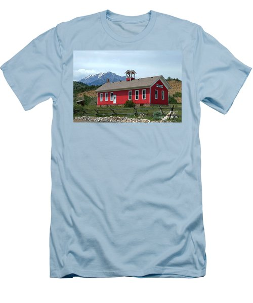 Historic Maysville School In Colorado Men's T-Shirt (Athletic Fit)