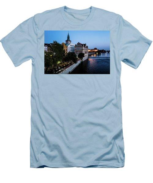 Historic Prague Men's T-Shirt (Athletic Fit)