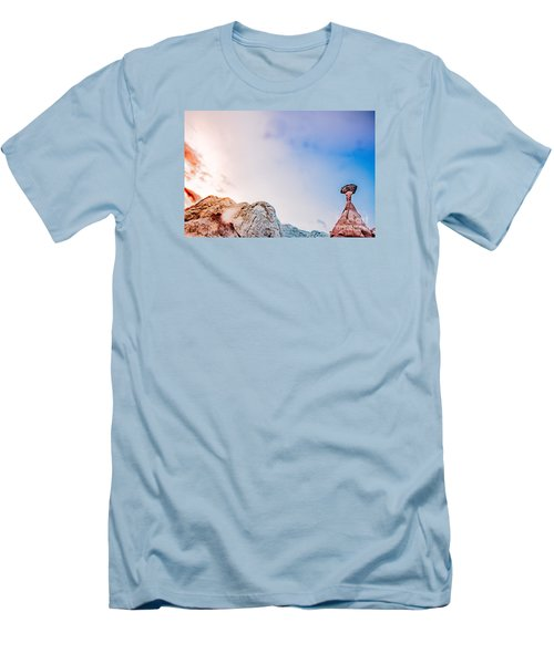 Hoo Doos At Sunset Men's T-Shirt (Athletic Fit)