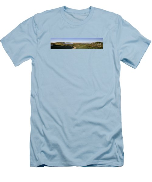 Men's T-Shirt (Slim Fit) featuring the photograph Horicon Marsh Wildlife Refuge by Ricky L Jones