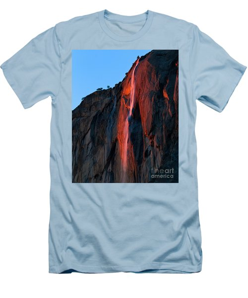 Horsetail Falls 2016 Men's T-Shirt (Athletic Fit)