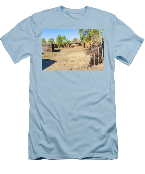 Houses In Rashid,  Sudan Men's T-Shirt (Athletic Fit)