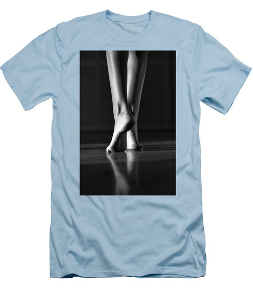Men's T-Shirt (Slim Fit) featuring the photograph Human by Laura Fasulo