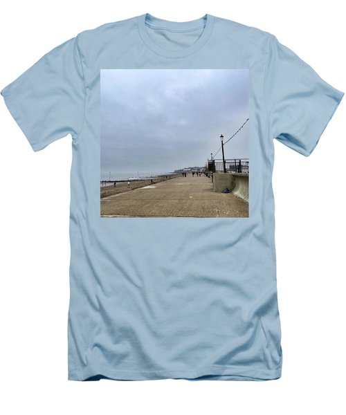 Hunstanton At 4pm Yesterday As The Men's T-Shirt (Athletic Fit)