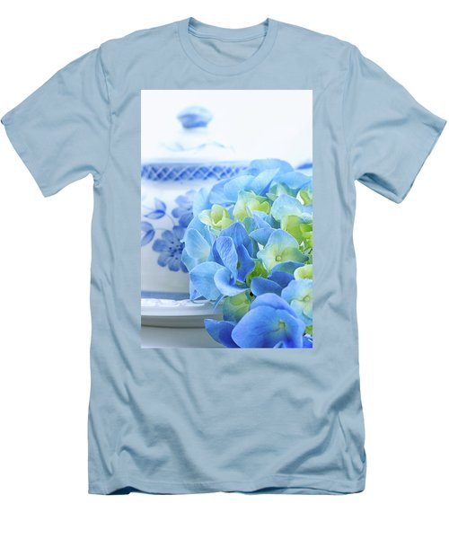 Hydrangea Memories Men's T-Shirt (Athletic Fit)