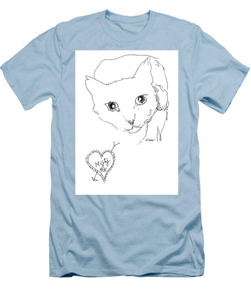 I Love Misty Men's T-Shirt (Slim Fit) by Denise Fulmer