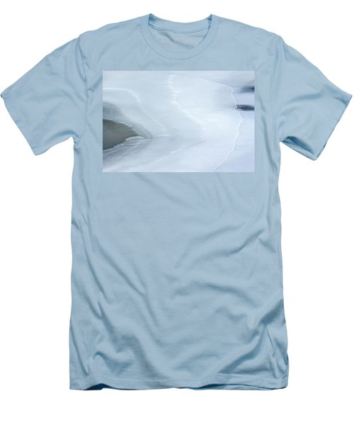 Ice Abstract 3 Men's T-Shirt (Slim Fit) by Hitendra SINKAR