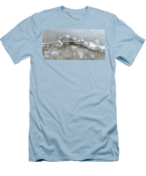 Ice And The Beach Four  Men's T-Shirt (Slim Fit) by Lyle Crump