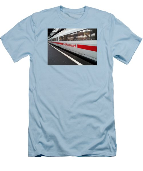 Ice Bord Restaurant At Zurich Mainstation Men's T-Shirt (Athletic Fit)