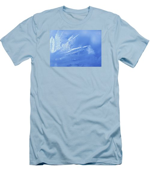 Ice Crystals 2 Men's T-Shirt (Athletic Fit)