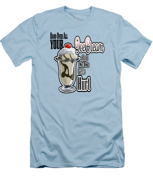Icecream Men's T-Shirt (Athletic Fit)