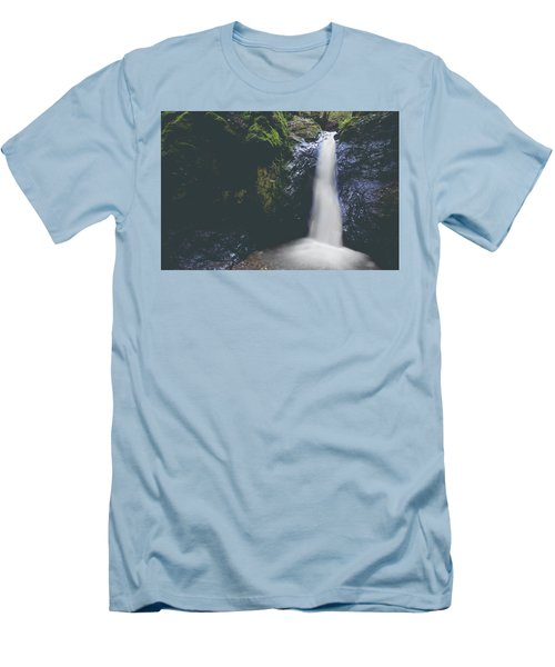 Men's T-Shirt (Slim Fit) featuring the photograph If Ever You Need Me by Laurie Search