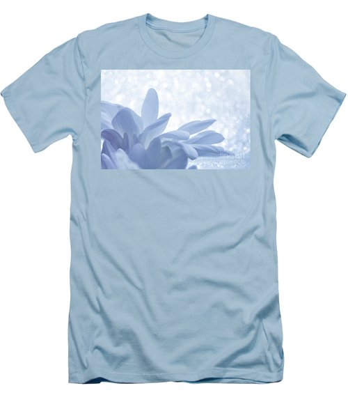 Men's T-Shirt (Slim Fit) featuring the digital art Immobility - Wh01t2c2 by Variance Collections