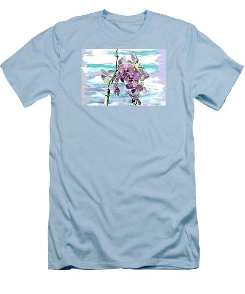 Imperial Orchids Men's T-Shirt (Slim Fit) by Marsha Heiken
