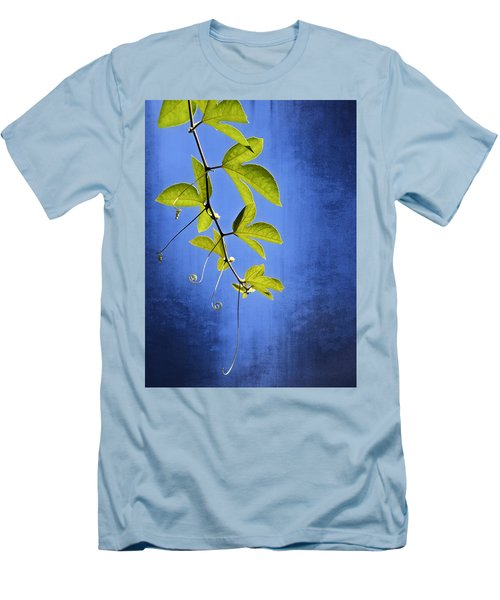 Men's T-Shirt (Slim Fit) featuring the photograph In The Blue by Carolyn Marshall